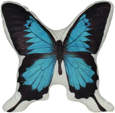 Bomont Collection Pillow Butterfly Blue L37xw37cm