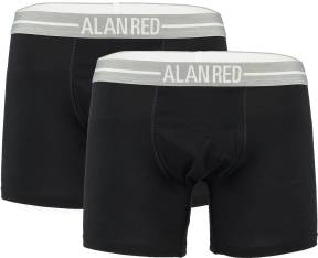 Alan Red 2 Pack Boxers Donkerblauw