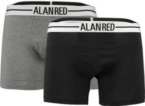 Alan Red 2 Pack Boxers Multicolor
