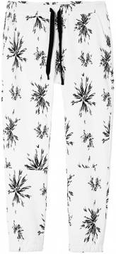 10 Days Joggingbroek Big Flower Wit