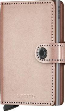 Secrid Miniwallet Metalic Rose