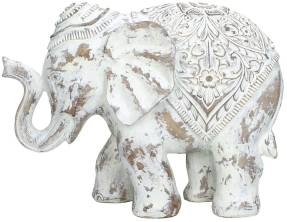 Bomont Collection Ornament Olifant Wit