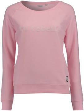 Cheaque Sweater Ladies Roze