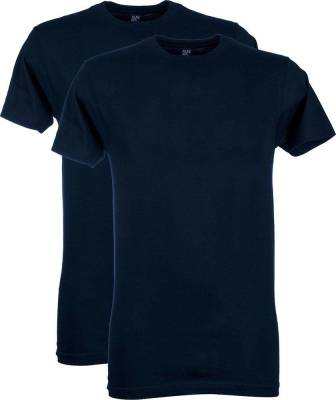 2-pack T-shirt Virginia Donkerblauw