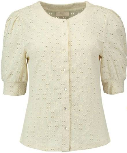 Freequent Blouse Leffe Offwhite