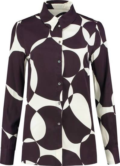Fifth house Blouse Rory Bordeauxrood