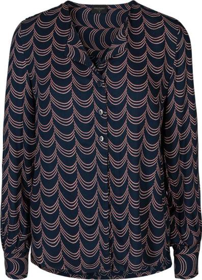 Freequent Blouse Sus-SH Donkerblauw
