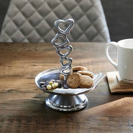 Riviera Maison Etagere With Love zilver