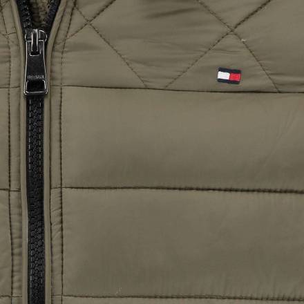 Tommy Hilfiger Jas Padded Bomber Army groen