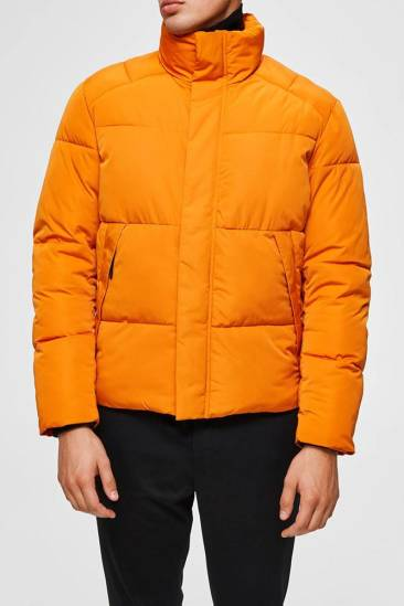 Selected homme Jas Slh Puffer oranje