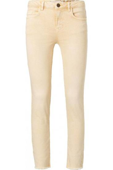 Yaya Jeans colored mellow yellow