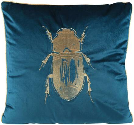 Bomont collection Kussen cushion beetle groen