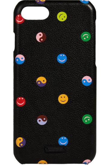 Maison Scotch Leather iPhone 8 case with artworks