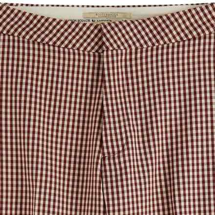 Maison Scotch Pantalon Classic Tailored Bordeaux