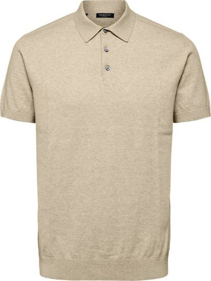 Selected homme Polo Beige