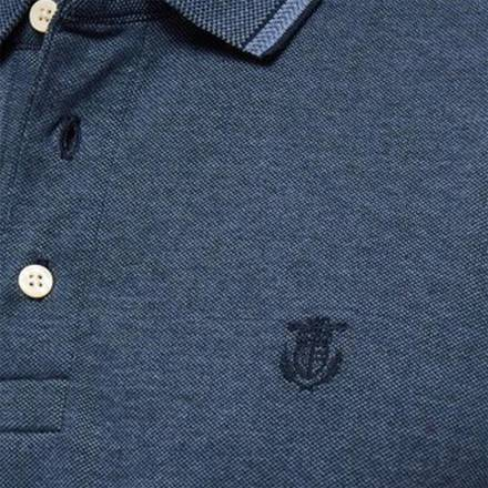 Selected homme Polo Blauw