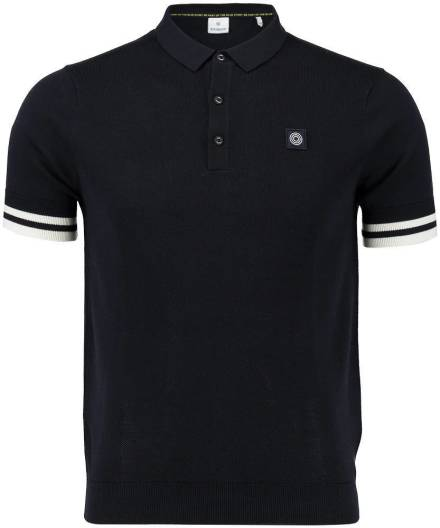 Blue Industry Polo Donkerblauw