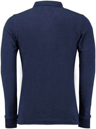 Superdry Polo Donkerblauw