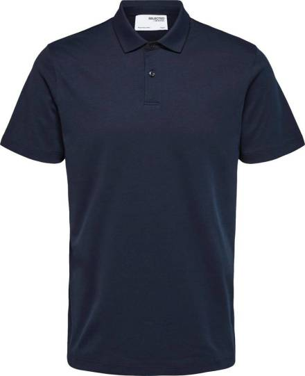 Selected homme Polo Donkerblauw