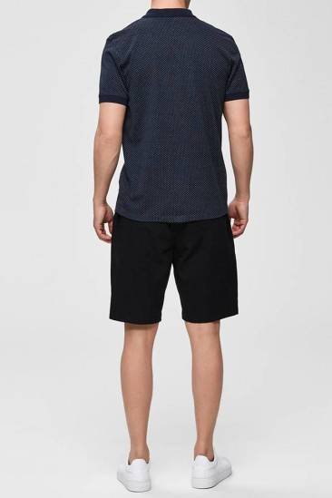 Selected homme Polo Mute donkerblauw