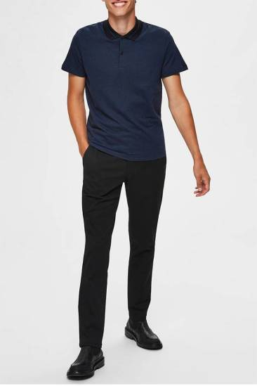 Selected homme Polo Shavenue Zwart