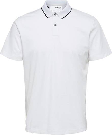 Selected homme Polo Wit