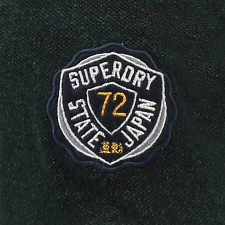 Superdry Polo classic groen
