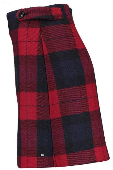 Tommy Hilfiger Rok Check Rood
