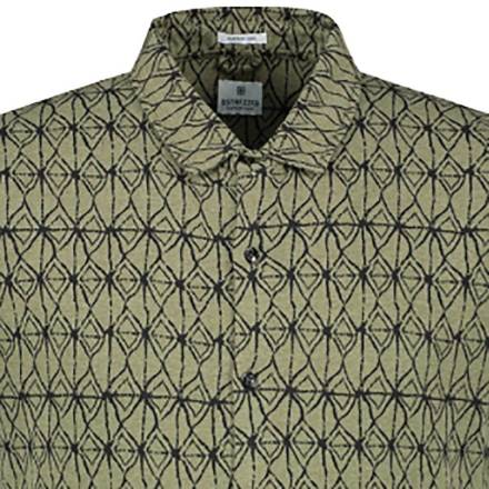 Dstrezzed Shirt s/s Shaking Tr army green