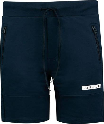 Retour Short Perry Donkerblauw