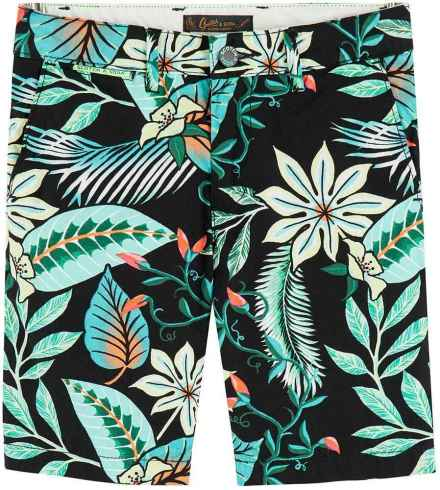 Scotch & Soda Short all over printed