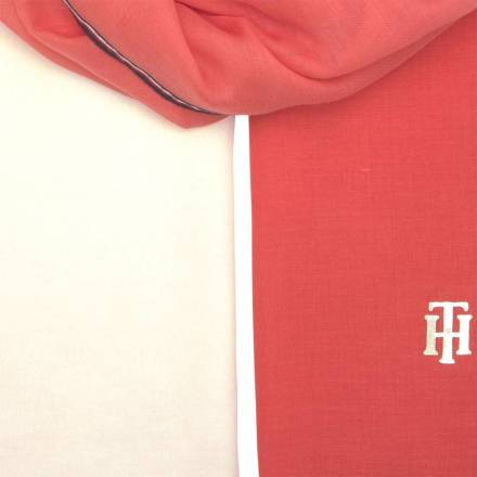 Tommy Hilfiger Sjaal Chic Rood