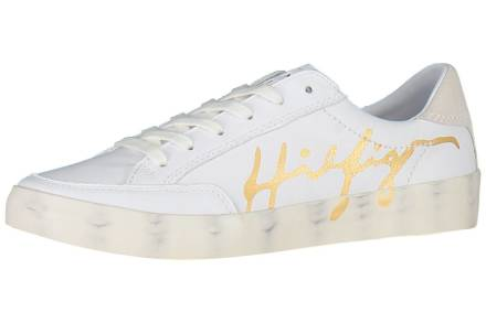 Tommy Hilfiger Sneaker Signature Leather Wit