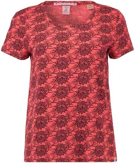 Scotch & Soda T-shirt Boxy Koraal