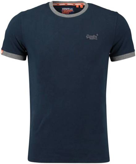 Superdry T-shirt Donkerblauw