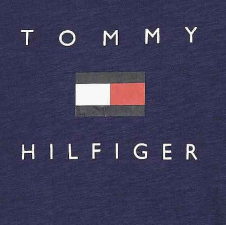 Tommy Hilfiger T-shirt Donkerblauw