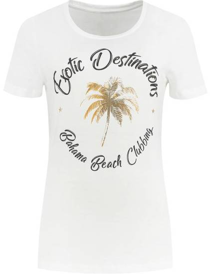 Nikkie T-shirt Exotic Off white