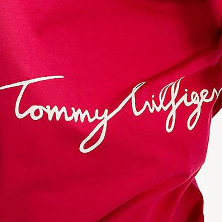 Tommy Hilfiger T shirt Graphic Roze Tops & T shirts Dames
