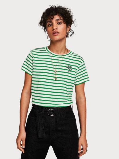 Scotch & Soda T-shirt Groen