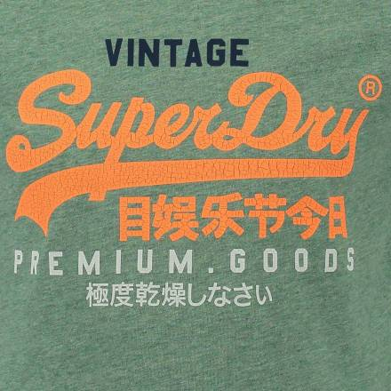 Superdry T-shirt Groen