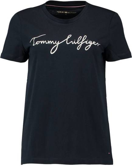 Tommy Hilfiger T-shirt Heritage Donkerblauw