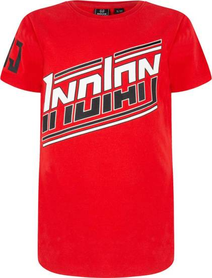 Indian Blue T-shirt Indian rood