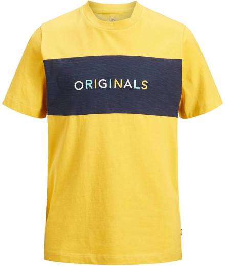 df3929eed96 Jack & Jones T-shirt Joralblas geel