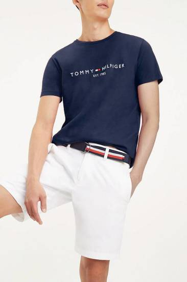 Tommy Hilfiger T-shirt Tommy Donkerblauw