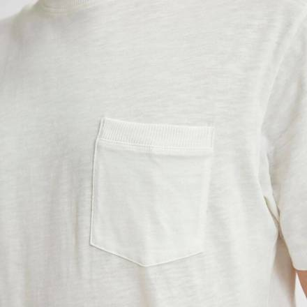 Selected homme T-shirt Wit