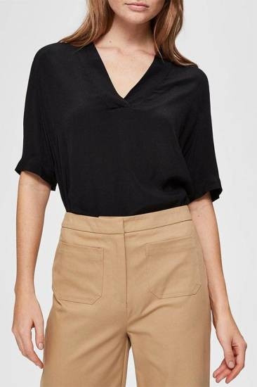 Selected Femme Top Ella zwart