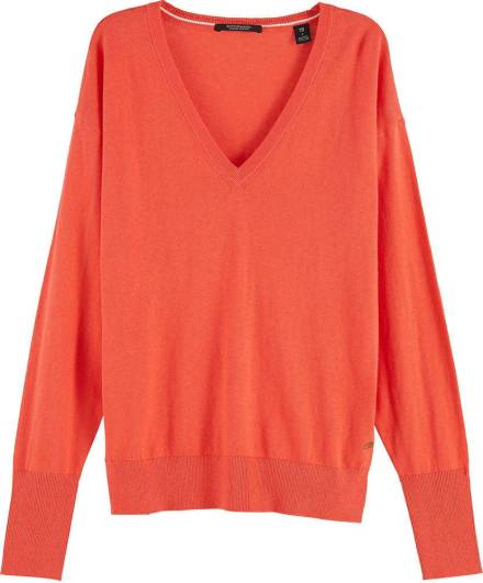 Scotch & Soda Trui Cashmere Rood