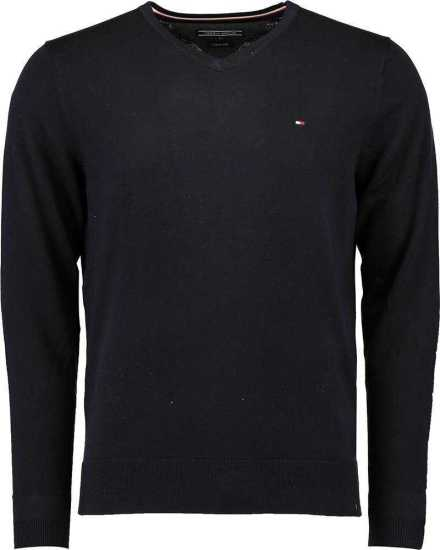 Tommy Hilfiger Trui Core Cotton donkerblauw
