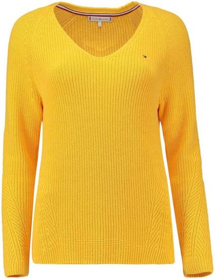 Tommy Hilfiger Trui Hayana Geel Pullovers Dames Bomont.nl