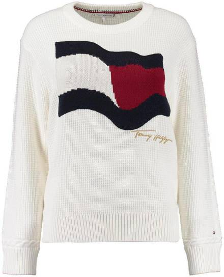 Tommy Hilfiger Trui Offwhite